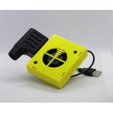 12ga Side Ejection USB Chamber Chiller Yellow Left Hand