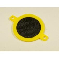 60mm Fan Filter Yellow